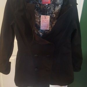 Urban Outfitters Lux Junior Girls Black Jacket